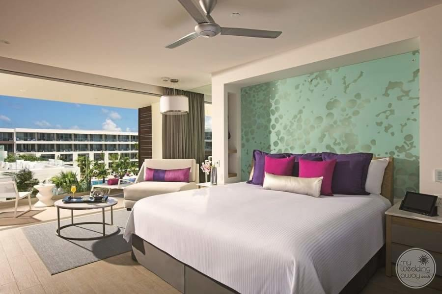 Breathless Riviera Cancun King Room Resort View
