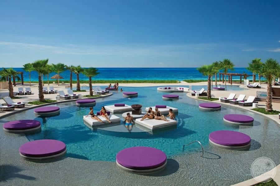 Breathless Riviera Cancun Main Pool