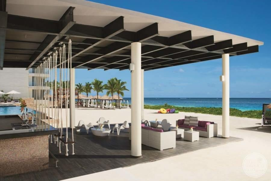 Breathless Riviera Cancun Outdoor Seating