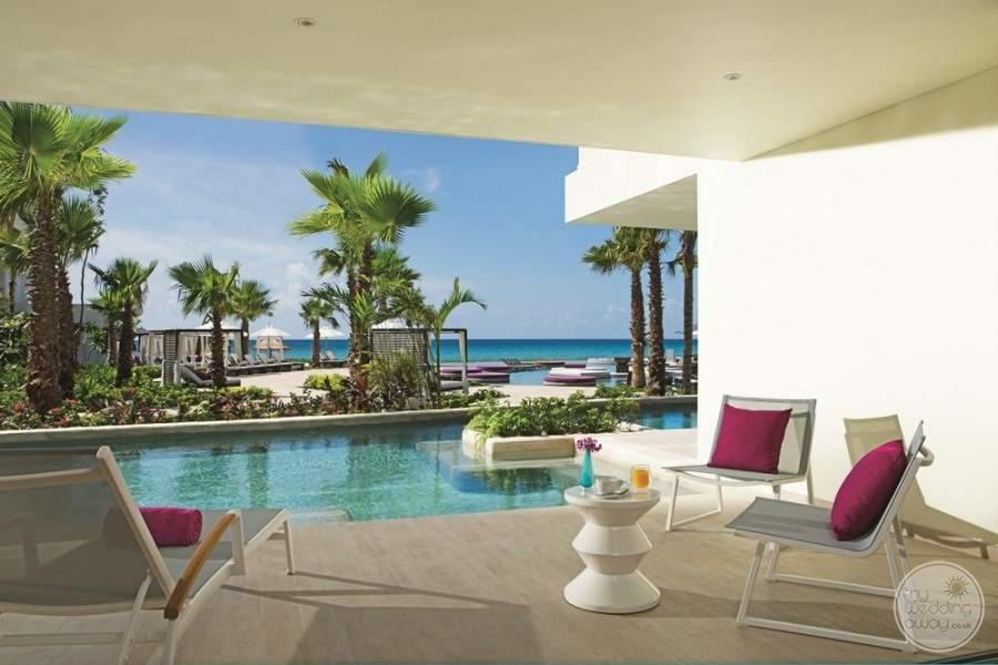 Breathless Riviera Cancun Room Terrace