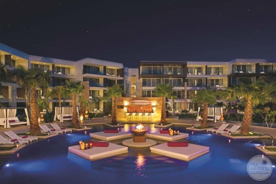 Breathless Riviera Cancun at Night