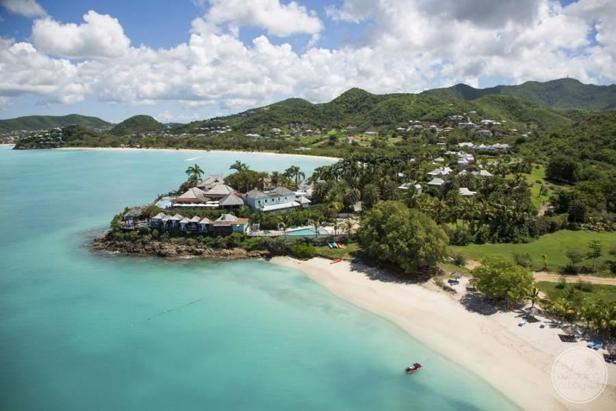 Cocobay Resort Antigua Aerial View