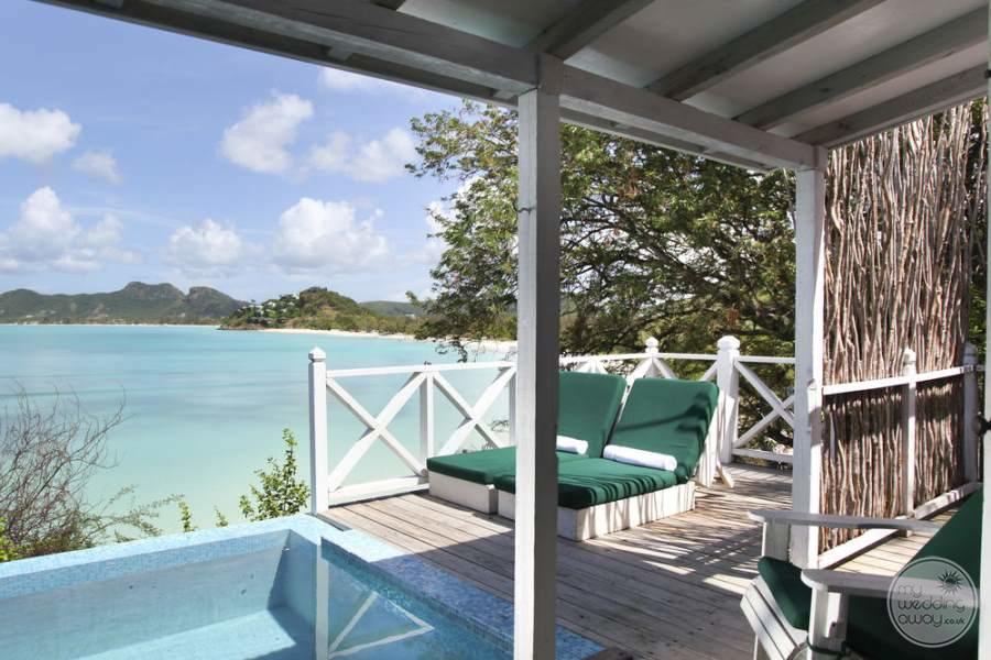 Cocobay Resort Antigua Cottage Loungers