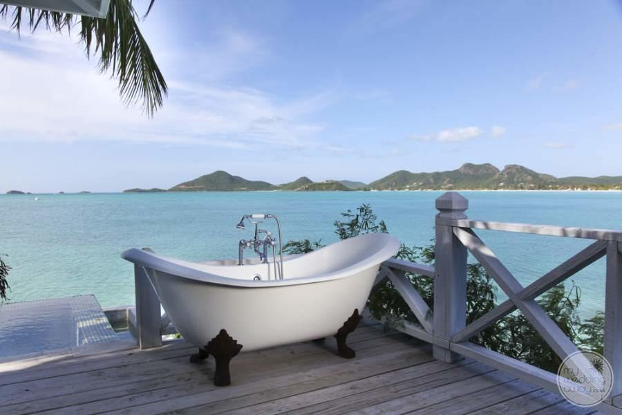 Cocobay Resort Antigua Outdoor Tub