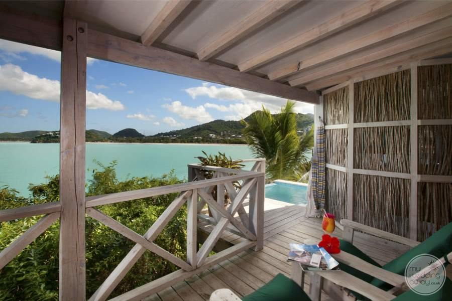 Cocobay Resort Antigua Cottage Porch