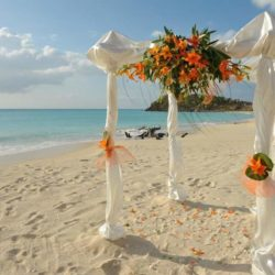 Cocobay Resort Antigua Beach Wedding Abroad