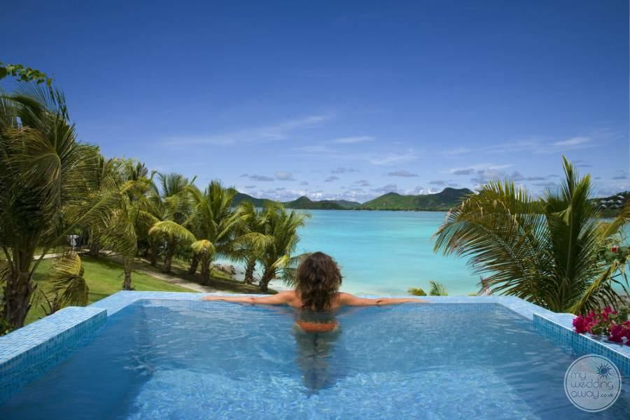 Cocobay Resort Antigua Infinity Pool View