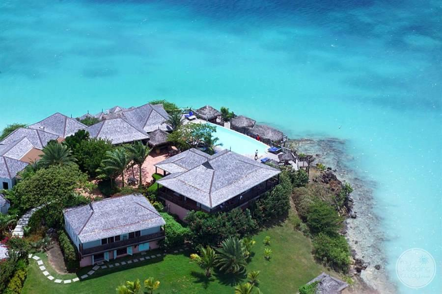 Cocobay Resort Antigua View from Above