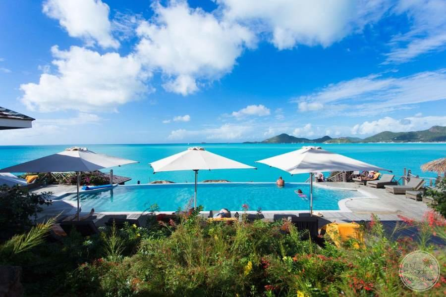 Cocobay Resort Antigua View of Pool and Ocean