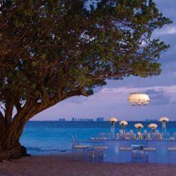 Dreams Sands Cancun Beach Wedding Reception
