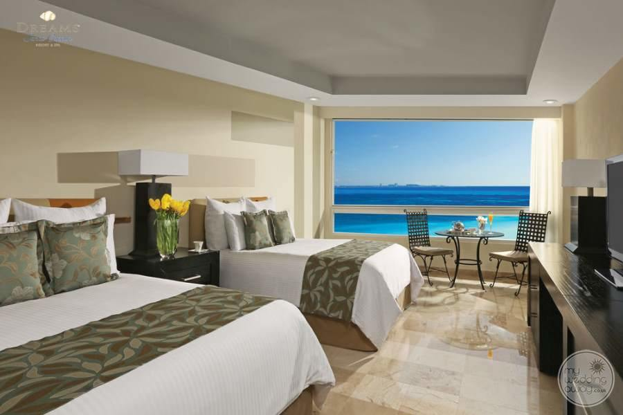 Dreams Sands Cancun Double Ocean Room