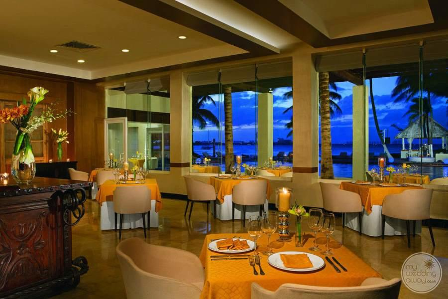 Dreams Sands Cancun Fine Dining Views