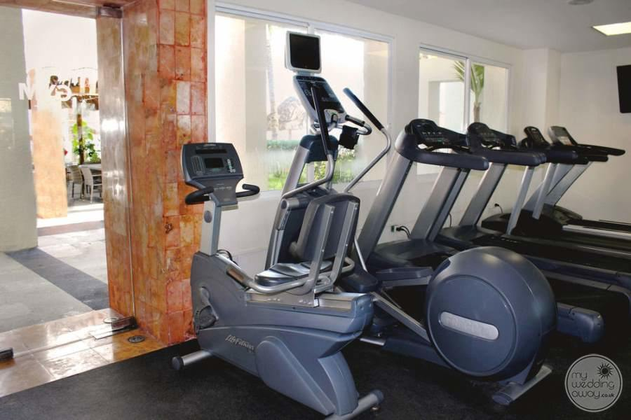 Dreams Sands Cancun Fitness Area