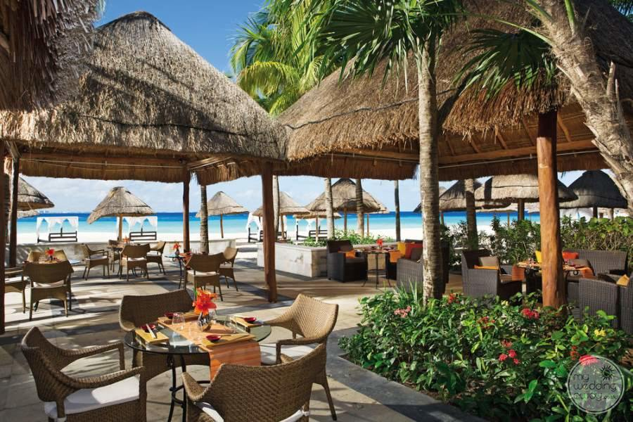 Dreams Sands Cancun Outdoor Dining
