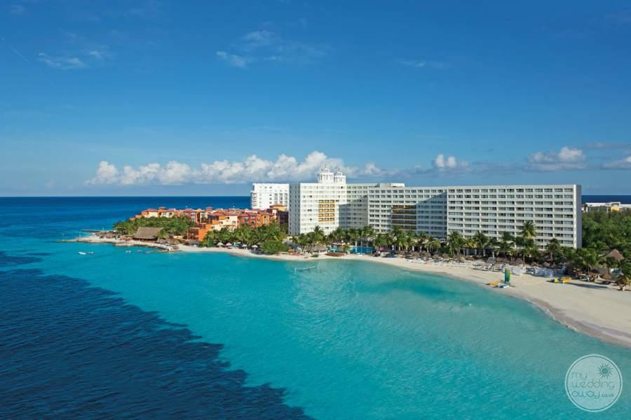 Dreams Sands Cancun View from Ocean