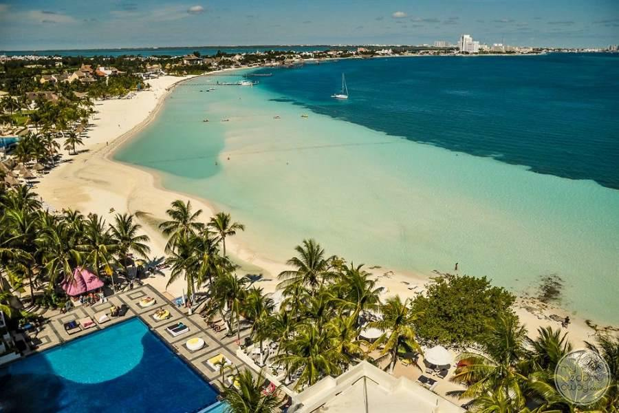 Dreams Sands Cancun View of Beach