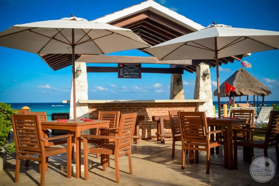 Fiesta Americana Condesa Cancun Covered Seating