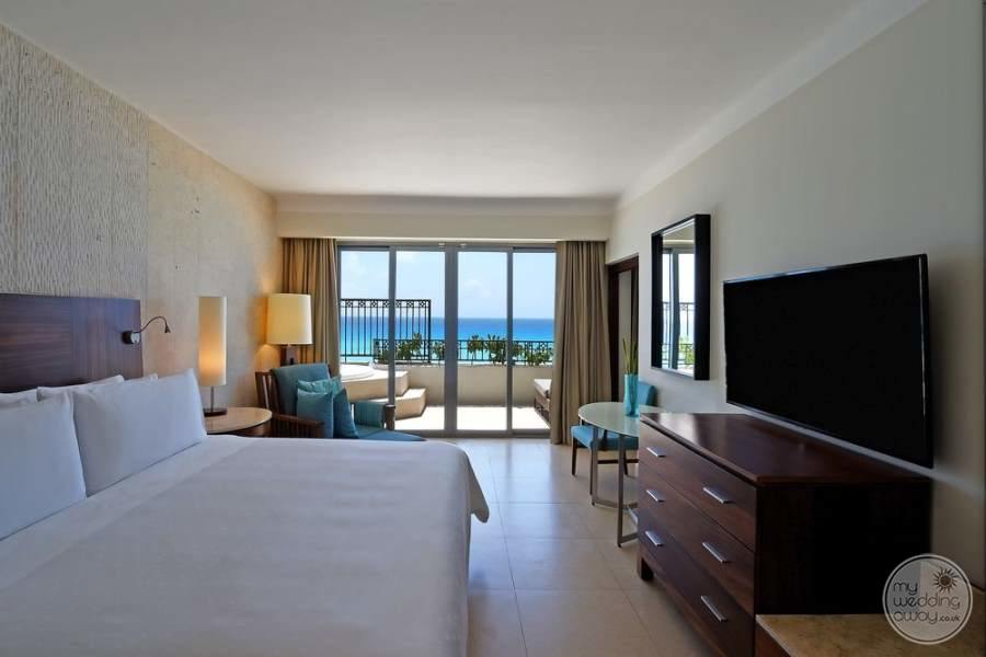 Fiesta Americana Condesa Cancun King Room view to Ocean