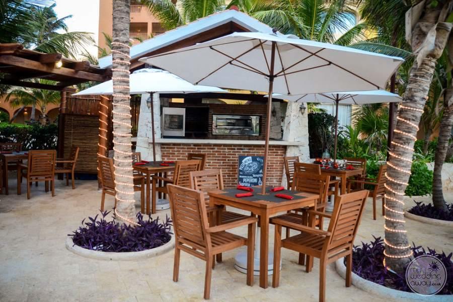 Fiesta Americana Condesa Cancun Outdoor Restaurant