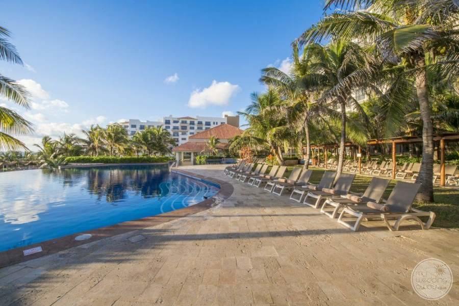 Fiesta Americana Condesa Cancun Pool Loungers
