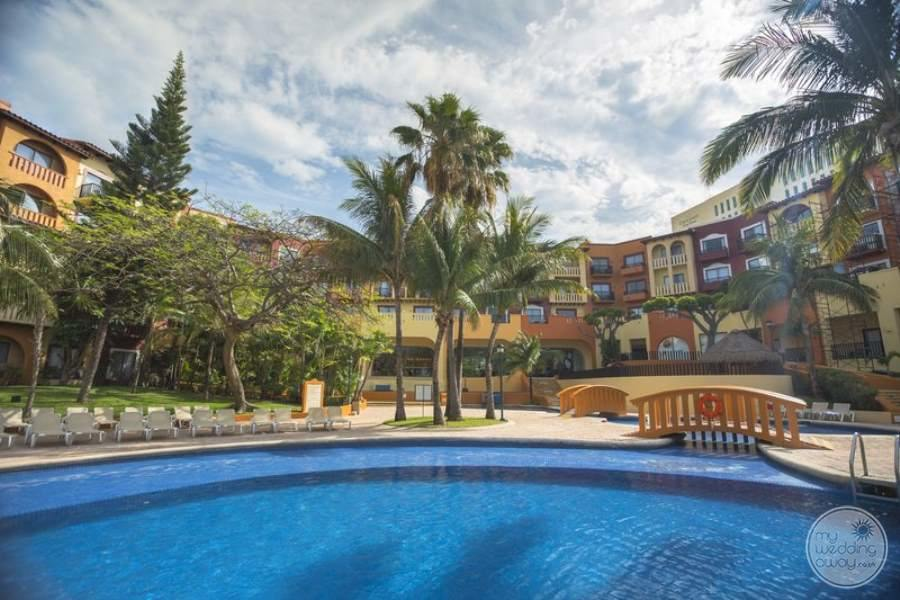 Fiesta Americana Condesa Cancun Pool and Rooms