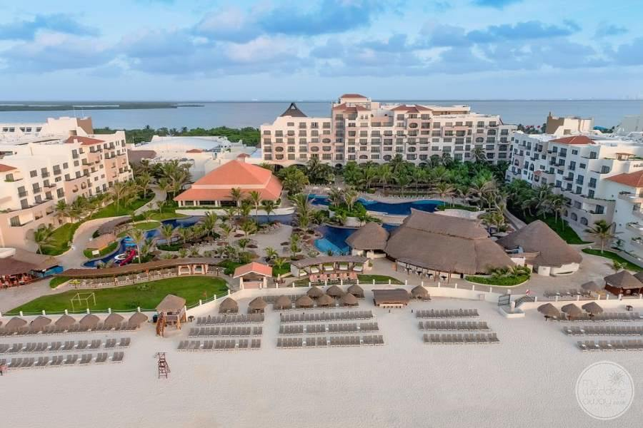 Fiesta Americana Condesa Cancun Resort Aerial View