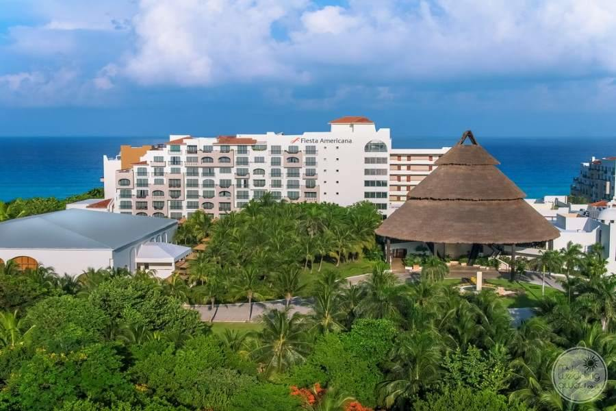 Fiesta Americana Condesa Cancun View of Resort