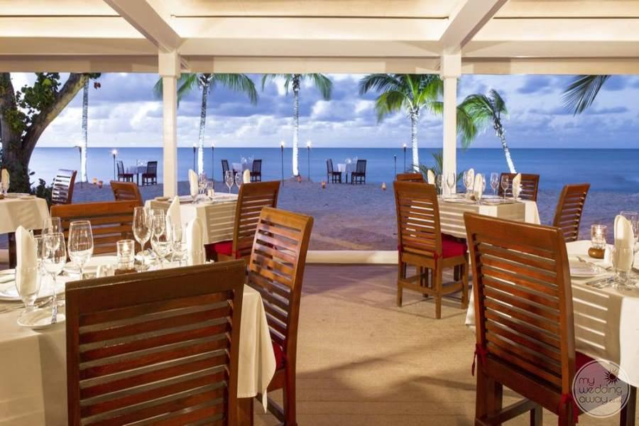 Galley Bay Antigua Dining View