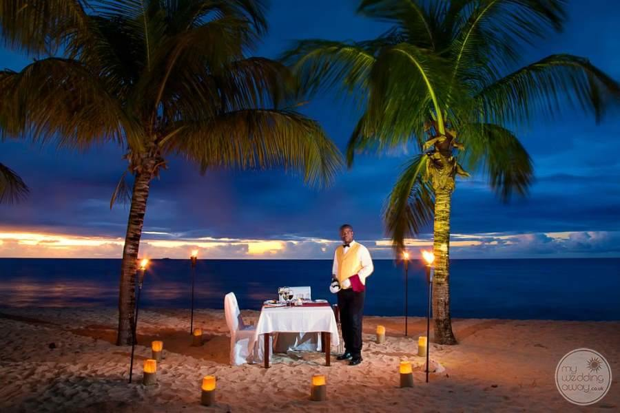Galley Bay Antigua Romantic Beach Dining