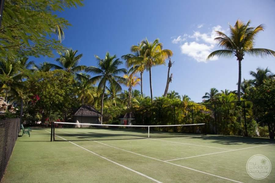 Galley Bay Antigua Tennis Court