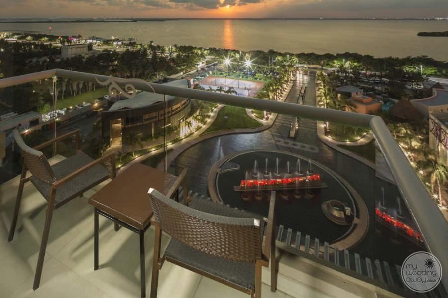 Hard Rock Hotel Cancun Balcony View