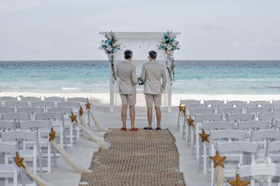 Hard Rock Hotel Cancun Beach Wedding
