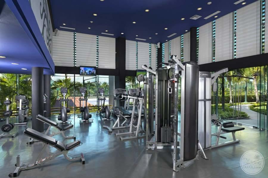 Hard Rock Hotel Cancun Fitness Area