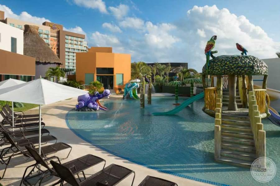 Hard Rock Hotel Cancun Kids Pool