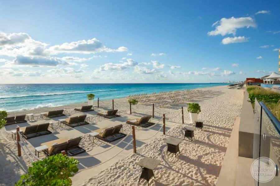 Hard Rock Hotel Cancun Sandy Beach