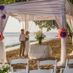 Hodges Bay Antigua Beach Wedding