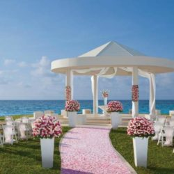 Hyatt Ziva Cancun Beach View Wedding