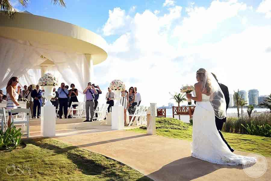 Hyatt Ziva Cancun Wedding Gazebo