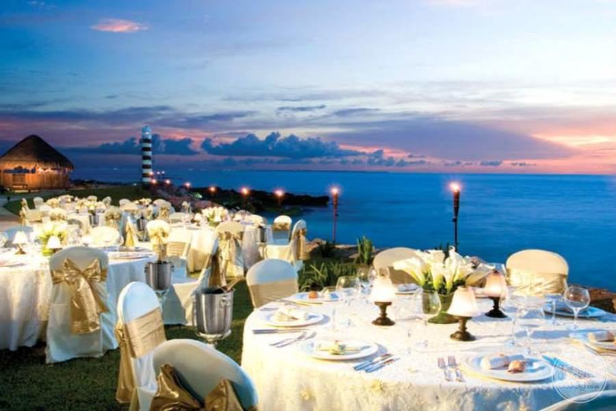 Hyatt Ziva Cancun Wedding Reception Views