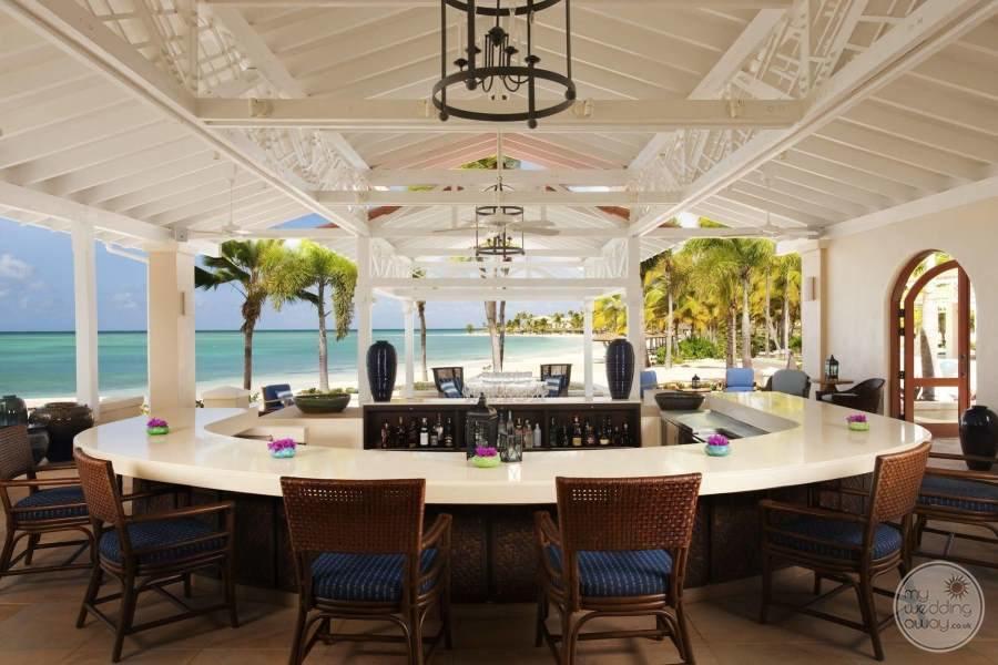 Jumby Bay Antigua Bar Area