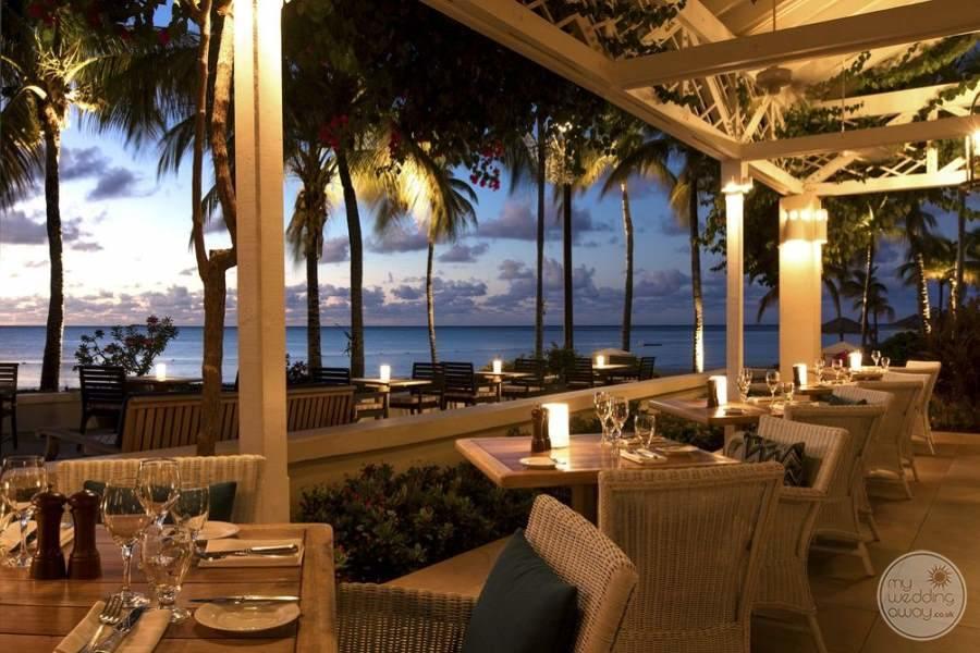 Jumby Bay Antigua Dining