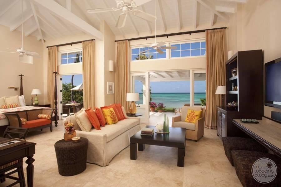 Jumby Bay Antigua Seating Area