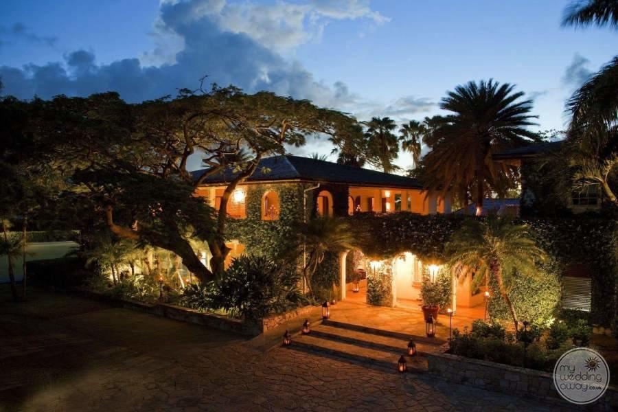 Jumby Bay Antigua at Night