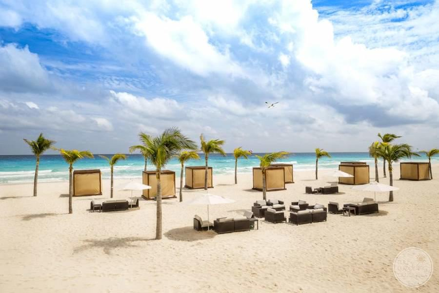 Le Blanc Cancun Beach Area