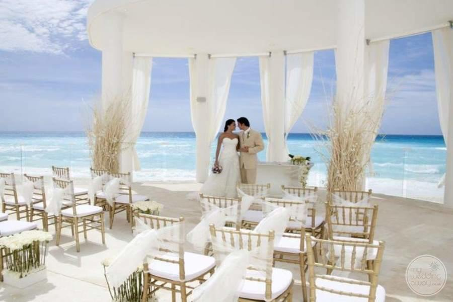 Le Blanc Cancun Beach Wedding