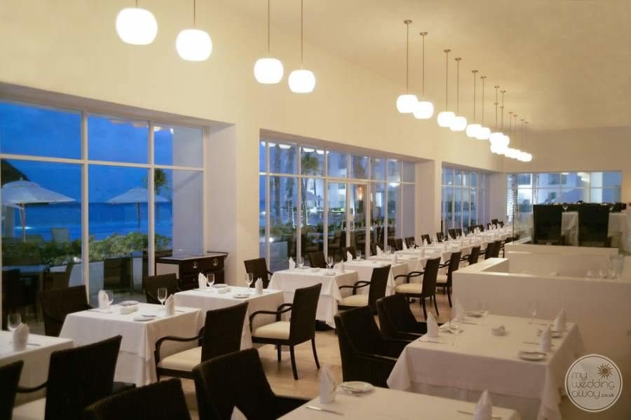 Le Blanc Cancun Dining Area