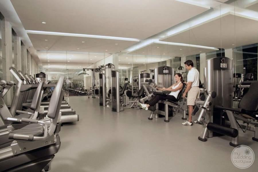 Le Blanc Cancun Fitness Area