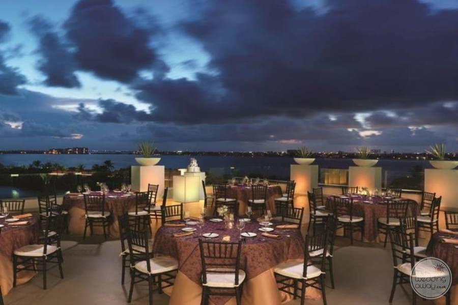 Le Blanc Cancun Outdoor Wedding Reception