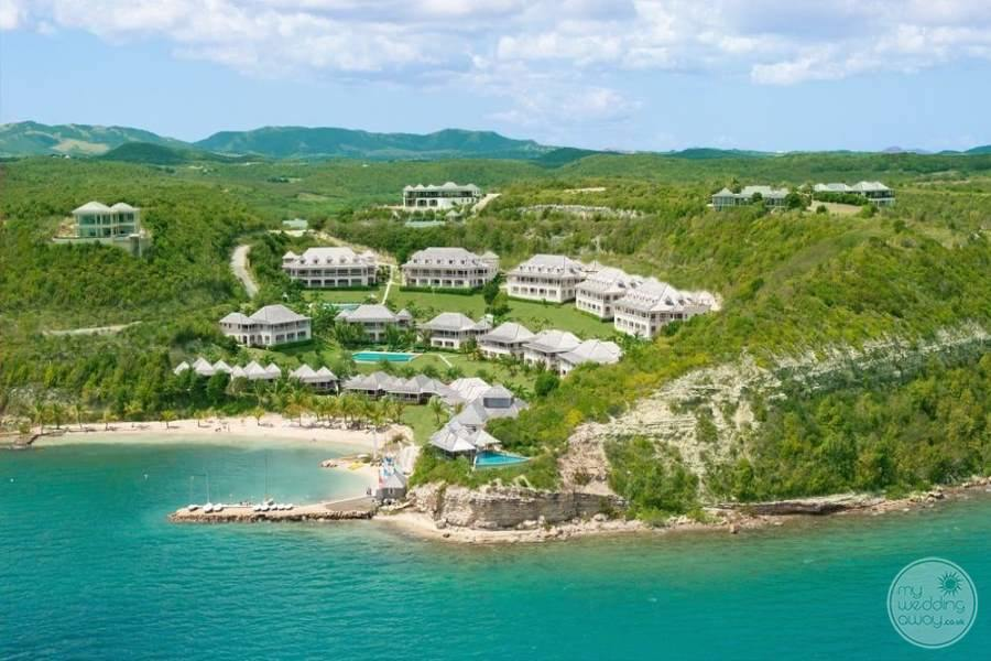 Nonsuch Bay Resort Antigua Aerial View