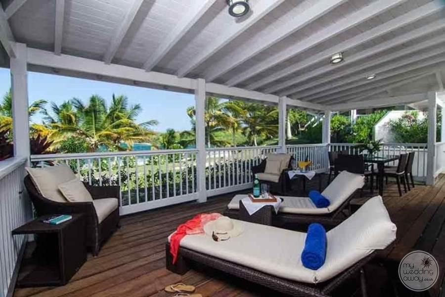 Nonsuch Bay Resort Antigua Balcony Lounge Chairs
